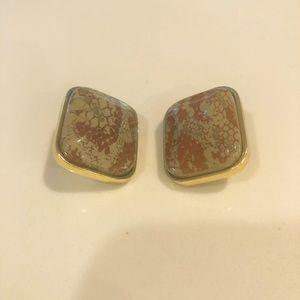 Kenneth Jay Lane clip on earrings